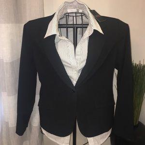 New York & Company Black Blazer Size